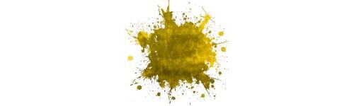Tentures jaunes