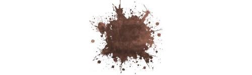 Tentures marron