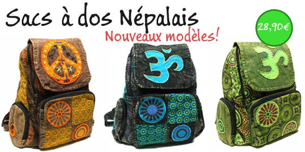 sacs à dos népalais