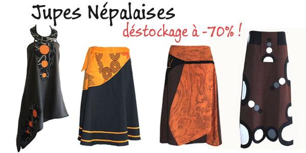 jupes népalaises