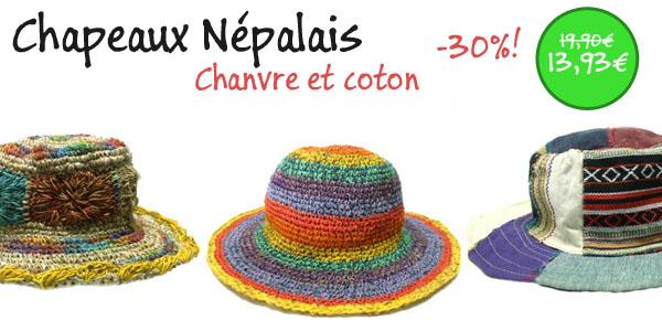 chapeaux népalais