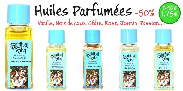 huiles parfumées indiennes