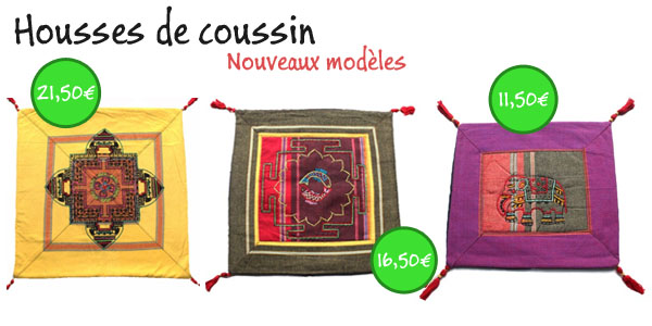 coussins indiens