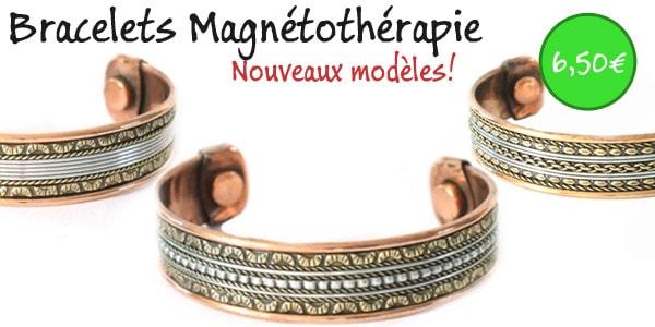 bracelets magnéthothérapie