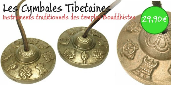 cymbales tibetaines